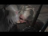 Ведьмак 3 - встреча Геральта и Цири