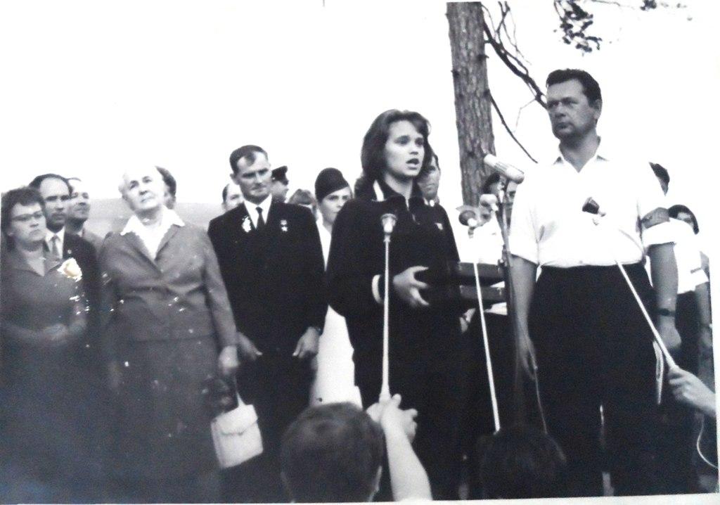 мать Героев Советского Союза Зои и Шуры Космодемьянских