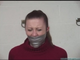 Serene Isley Gagged over and over tightly