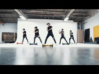 Танец на сигвеях под песню Джастина Бибера What Do You Mean - Epic Segway Dance Cover @justinbieber