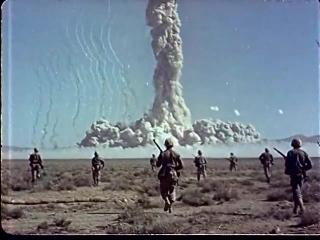 Войсковые учения Desert Rock(фрагмент)