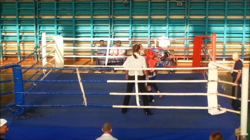 Полуфинал Чемпионата Украины 34 кг - Разинков Юлиан (Херсон) - Булавченко Юрий (Одесса)