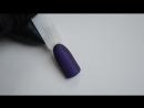 Создание эффекта размытого контура в дизайне - маникюр гель лак - уроки дизайна.
