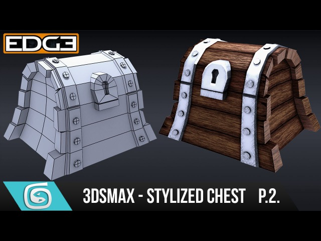 3Ds Max Tutorial for Beginners - How to create a Stylized Chest - Modelling [Part 2]