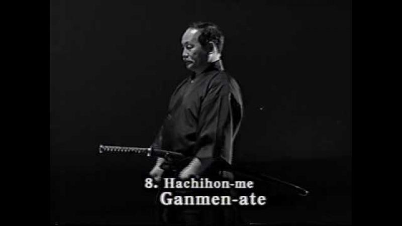 8. Iaido Kata Seitei 08 Hachihon-me - Ganmen-ate - High quality - www.thesamuraiworkshop.com