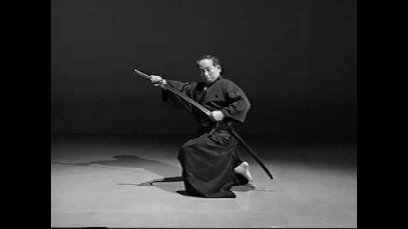 3. Iaido Kata Seitei 03 Sanbon-me - Ukenagashi - High quality - www.thesamuraiworkshop.com