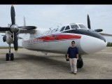 Flying Air Koryo An-24 and Tu-134-B3 to and from Sondok
