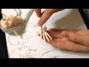 Мастер-класс лепка рук для куклы из пластики