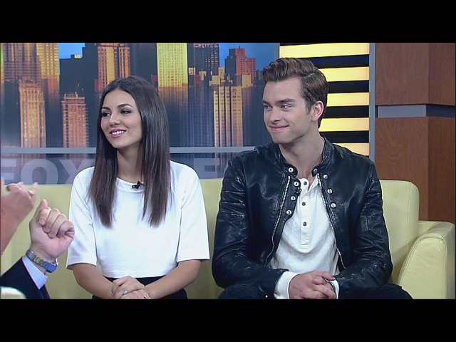 Real-life Couple Victoria Justice and Pierson Fode Star in Modern Love Triangle
