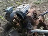 домашний, самодельный электро трактор home, homemade electric tractor