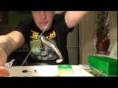 Изготовление оснастки Drop ShotДроп-шот и поводка из струны - быстро