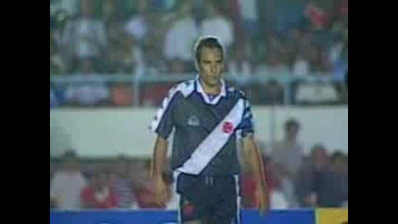 Em 1997, Edmundo chama juiz de paraíba