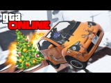 САМЫЕ УБОЙНЫЕ СНЕЖНЫЕ РАМПЫ В GTA 5 ONLINE (ГТА ГОНКИ) #158