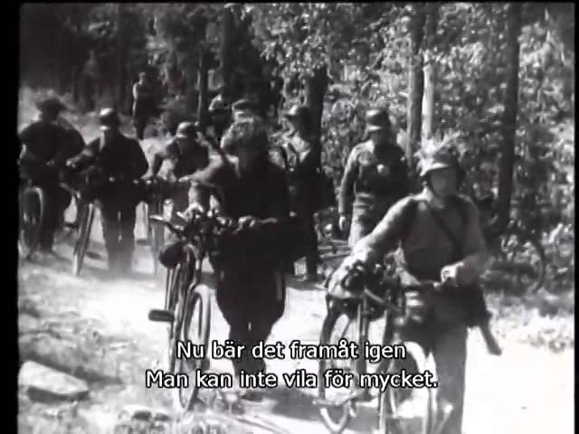 №4 2 1 08 1941 Рюти и Маннергейм в Миккели Братья по оружию Свинхувуд на фронте