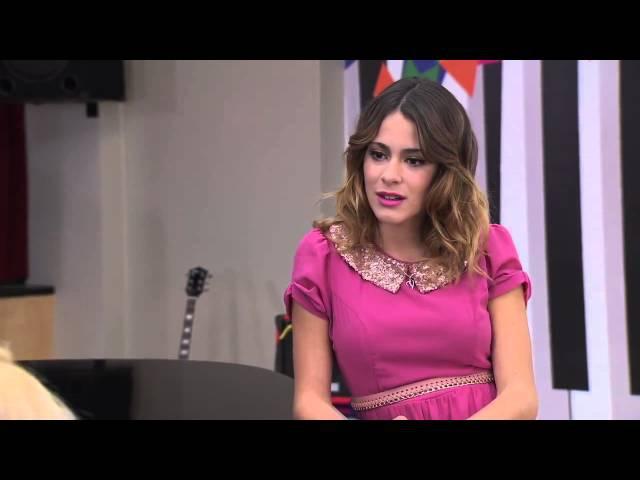 Violetta 2 Ludmila y Vilu cantan Si Es Por Amor