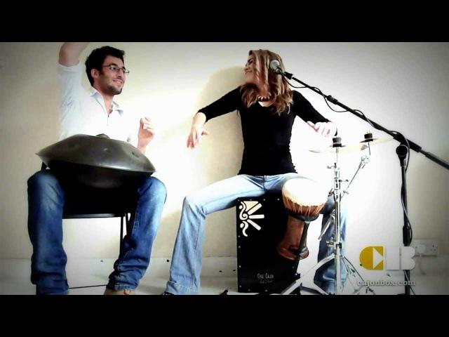 Cajon box hang drum - Jamming
