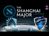 Team Liquid vs Vega #2 (bo2) (Ru) | The Shanghai Major Europe (08.01.2016)