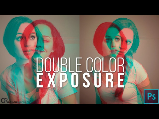 9\Double Color Exposure — Photoshop Tuрtorial\\98р