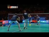 Rallies shot Fu Haifeng - Zhang Nan vs Mathias Boe - Carsten Mogensen
