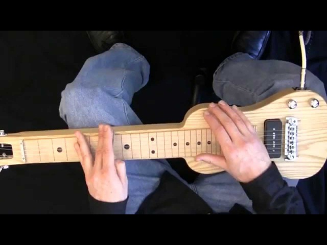 Sleep Walk on C6 Lap Steel Guitar Performance and Lesson