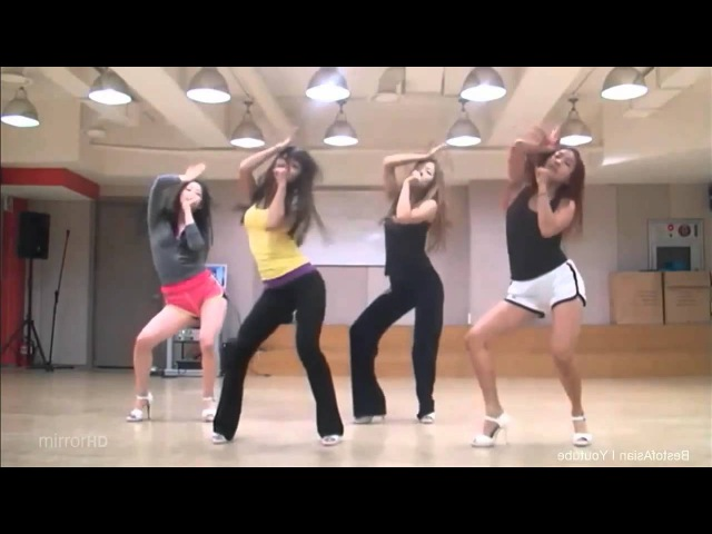 SISTAR 'How Dare You' 'Over' mirrored Dance Practice