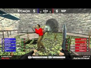 Fun'BA: Stream CS 1.6 #80 XT[ea]m VS NiP DE_AZTEC