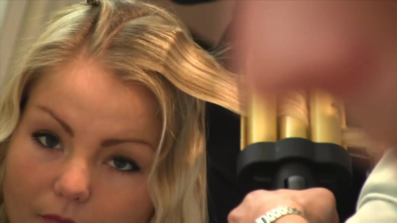 Slikhaar. How to make wavy hair - Triple waver - Blond hair tutorial - Long blond wavy hair-1