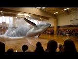 3D Голограмма Кита в Спортивном зале [720p]