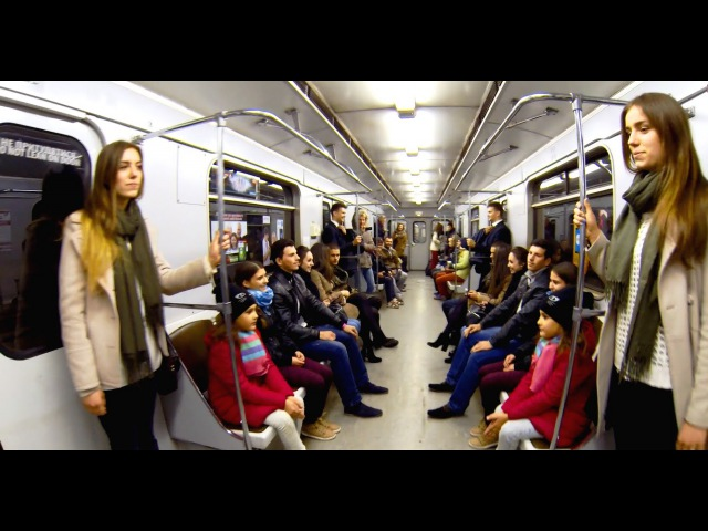 Люди Зеркала в Метро | Human Mirror in Kiev Subway
