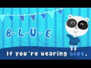 What Color Are You Wearing   Color Song   Colors Song for Kids   The Kiboomers