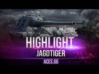 Хищник вышел на охоту. Jagdtiger в World of Tanks