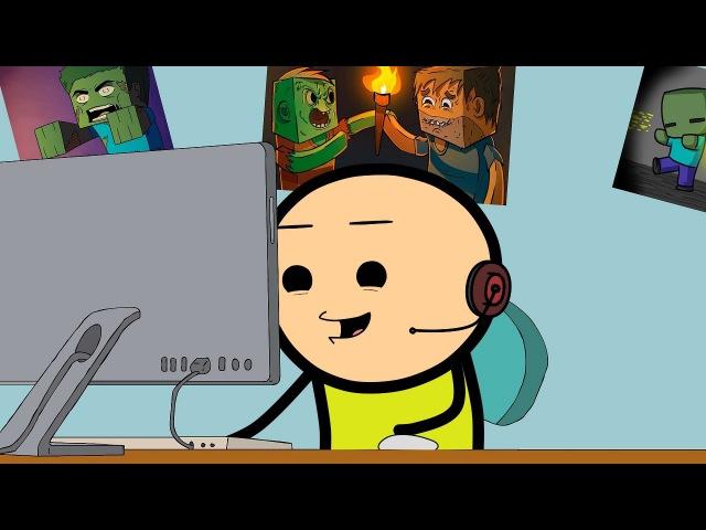 В Minecraft криппер каннибал