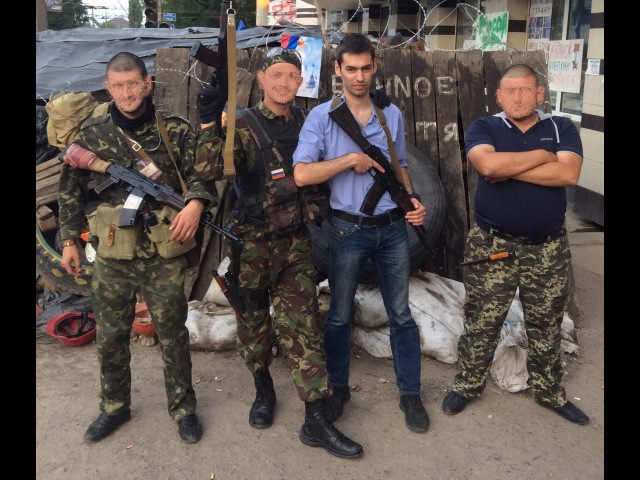 E.N.O.T. CORP первая командировка на Донбасс/ E.N.O.T. CORP. Fighting Novorossiya