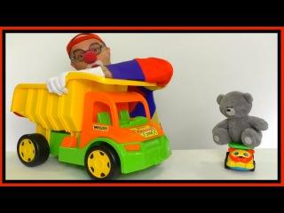 Веселые гонки с клоуном Димой и Медведем!