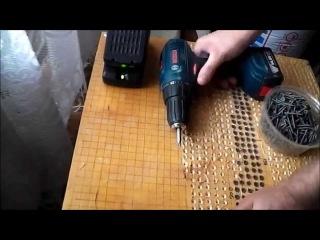 Тест Аккумуляторная дрель-шуруповерт Bosch GSR 1440 - LI (14 вольтовый шурик)