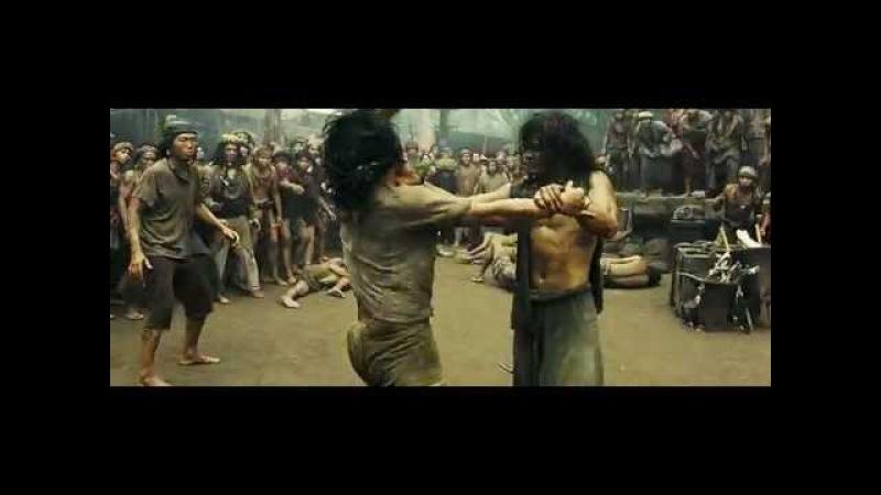 Ong Bak 2 Slave Fight Scene HUN DUB