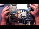 Ремонт ноутбука Acer Aspire 5530(LA-4171P). Нет изображения. Замена северного моста.