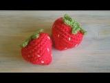 (crochet) How To - Crochet a Strawberry
