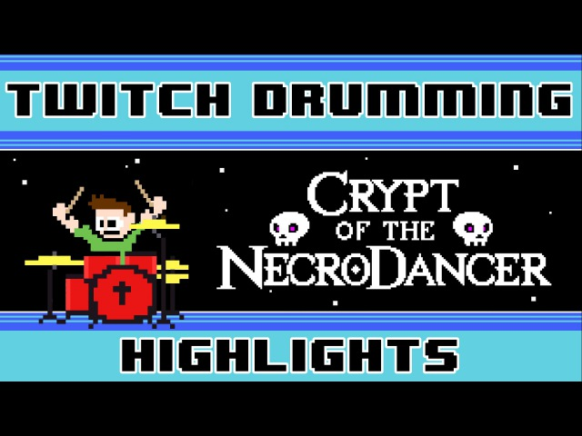 Crypt of the NecroDancer OST (Drum Cover) -- The8BitDrummer