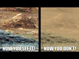 Город пирамид на Марсе.