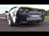 600HP Corvette C6 Z06 - Lovely V8 Exhaust Sounds!