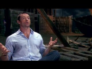 Отверженные/Les Miserables (2012) Интервью с Хью Джекманом