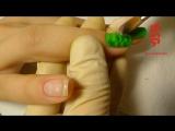 Видео урок - Дизайн ногтей Змеиная кожа (1)