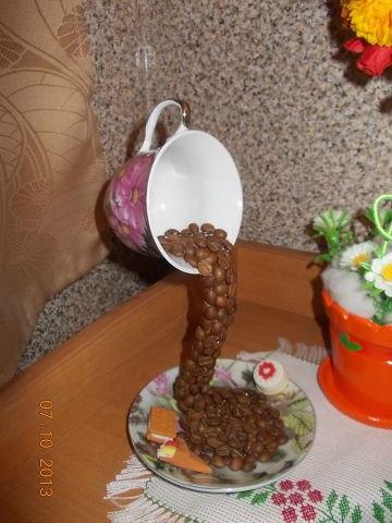 Как сделать из блюдца и чашки