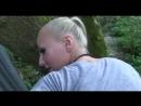 Гломурная блондинка сделала классный минет в кустах порно