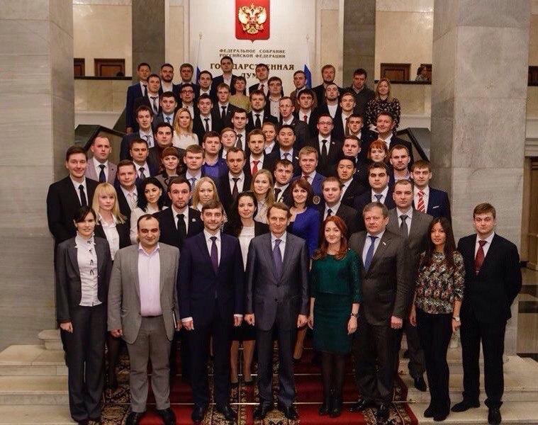 Молодежный парламент страны подвел итоги работы за 2015 год