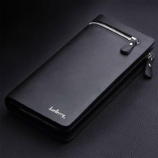 ? Зачем держать три вещи (визитницу + бумажник + барсетку), если нужен только один настоящий мужской портмоне