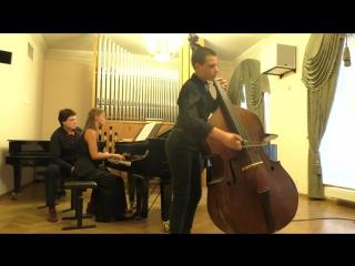 Генри Экклз, Соната ля минорв переложении для контрабаса и фортепиано  Диего де-Сантьяго-Ботта