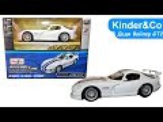 Машинка DODGE Viper GT2 (GTS R) сборная модель - Kinder&Co - Обзоры игрушек)
