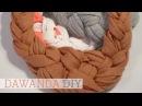 DaWanda DIY Stoff Collier von tandan